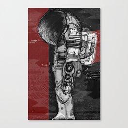 Dieter Rams In Space Canvas Print