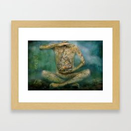 Calmness Framed Art Print