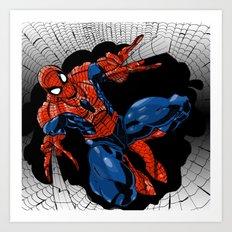 Spidey Color Art Print