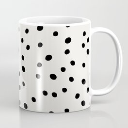 Preppy Spots Digita Drawing Coffee Mug