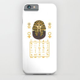 Pharaoh Egypt Pyramids Sphinx sign gift iPhone Case
