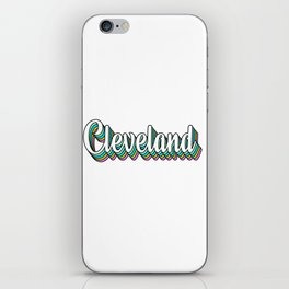 Cleveland Chill iPhone Skin