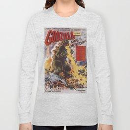 Godzilla rampage Long Sleeve T-shirt