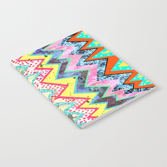 Rainbow Abstract Geometric  Notebook