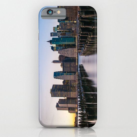 Sunset over Manhattan iPhone & iPod Case
