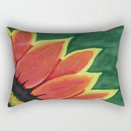 Fire Flower Rectangular Pillow