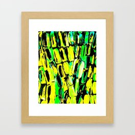 Jamaican Sugaarcane Framed Art Print