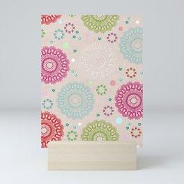 Lace&Rosaces Mini Art Print