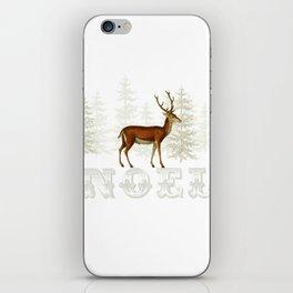 Wandering deer  iPhone Skin