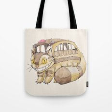 Magical Bus Ride Tote Bag