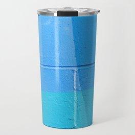 Turquoise Brick Travel Mug