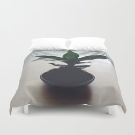 Kokedama Shadows Duvet Cover