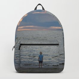 Boy and the Silver Sea Backpack