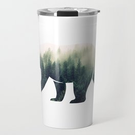 Bear in the Forest Travel Mug