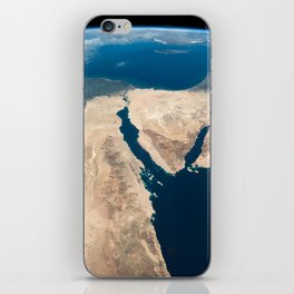 The Nile and the Sinai, to Israel and beyond. One sweeping glance of human history iPhone Skin