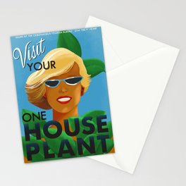 Visit Your One House Plant Stationery Cards