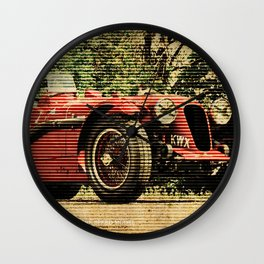 1939 Aston Martin 2 Litre Speed Model Wall Clock