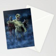 Midnight Stroll Stationery Cards