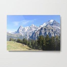 Mountain View 2 Metal Print