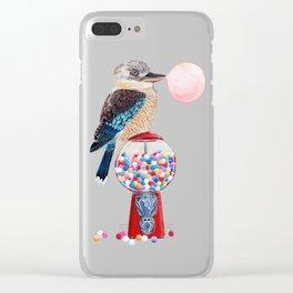 Kookaburra Gumball Machine Clear iPhone Case