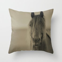 HORSE 2 - Old Friends Collection Throw Pillow