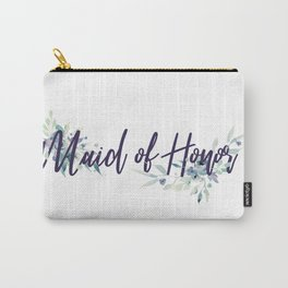 Maid of Honor Watercolor Carry-All Pouch