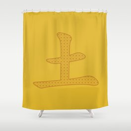 Chinese Character Earth / Tu Shower Curtain