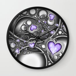 Heart Of The Machine Wall Clock