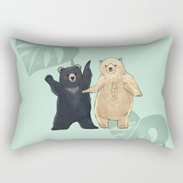 Dancing Bears Rectangular Pillow