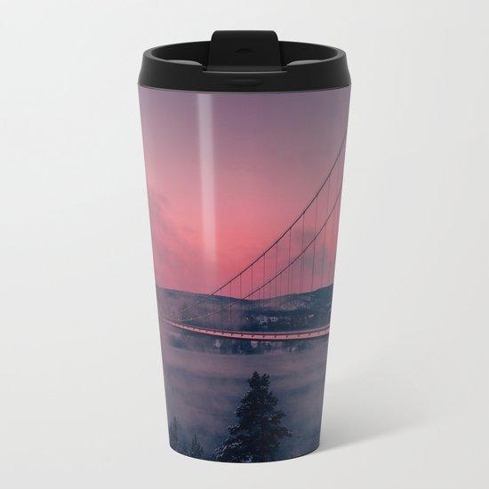 Cool Mornings Metal Travel Mug