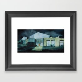 Beyond the Tracks Framed Art Print
