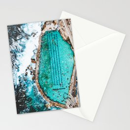 People In Water Stationery Cards