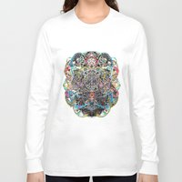 mask Long Sleeve T-shirts featuring Mask by Nicole Linde