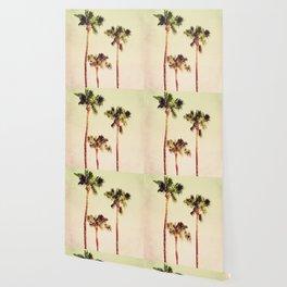 PASTEL PALM TREES no2 Wallpaper