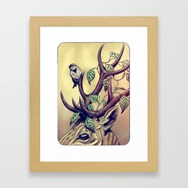 Bittersweet - coloured Framed Art Print