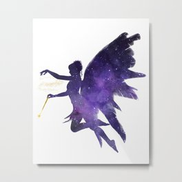 Fairy in the sky Metal Print