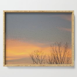 Sunrise in Montgomery Serving Tray