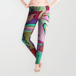 Tropical Chic Leggings
