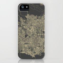 Las Vegas Map #1 iPhone Case