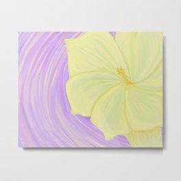 Flower Sermon Metal Print