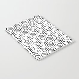 Hand Drawn Hypercube Notebook