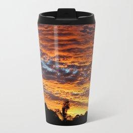 Sunset from the Sunshine Coast Travel Mug