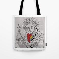 Beethoven in musica Tote Bag