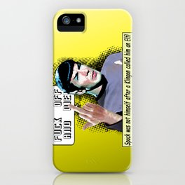 Spock.... iPhone Case