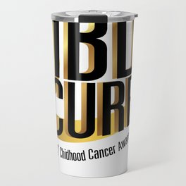 Cure Support Childhood Cancer Awareness Travel Mug