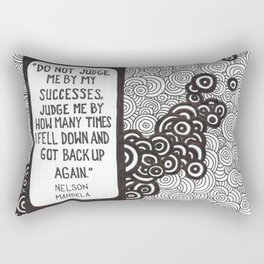 Get Back Up Rectangular Pillow