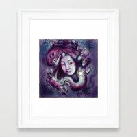 korea Framed Art Prints featuring South Korea by Holly Carton