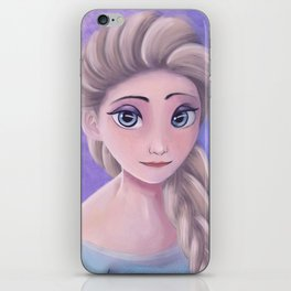 The Queen of Ice and Snow iPhone Skin