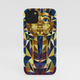 Golden Tutankhamun - Pharaoh's Mask iPhone Case