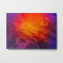 Marble Space #4 Metal Print